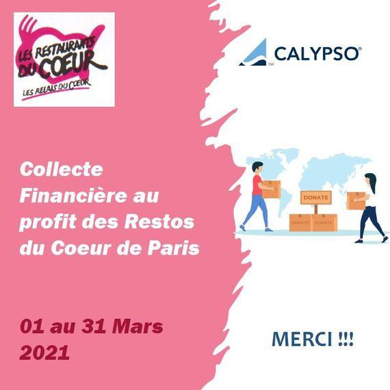 CALYPSO - Collecte financière pour les Restos du Coeur