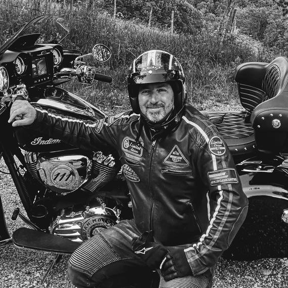 Road trip moto en Savoie pour les Resto du Coeur
