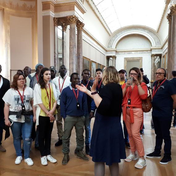 Développer des activités culturelles pour les personnes accueillies dans le Loiret