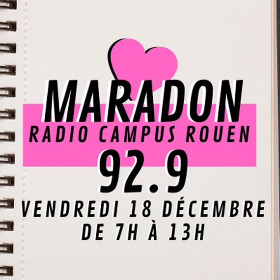 MaraDon Solidaire - Radio Campus Rouen 92.9
