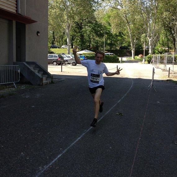 Marathon + Restos du cœur = ❤️