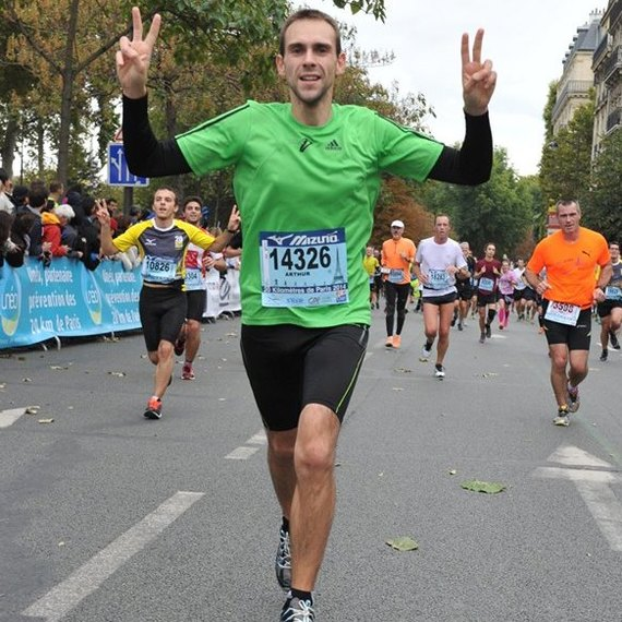 Mon marathon pour les restos