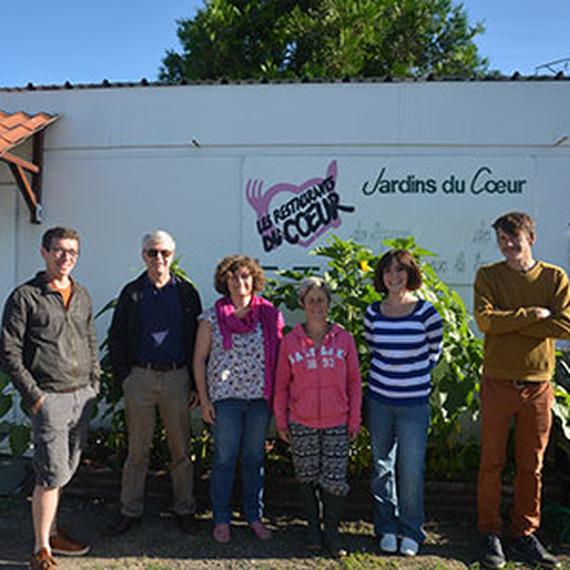 Achat d'un minibus 9 places pour les Jardins du Coeur du Loiret