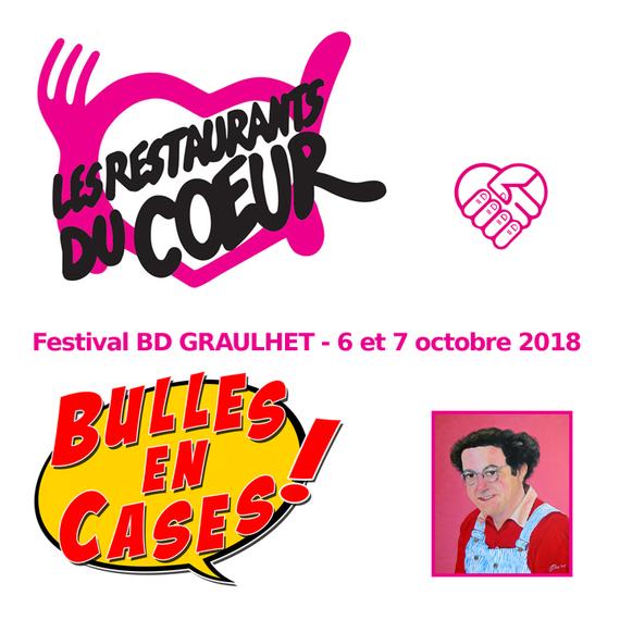 Festival BD Bulles en Cases Graulhet