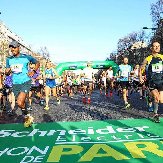 Marathon Paris  ous Ensemble