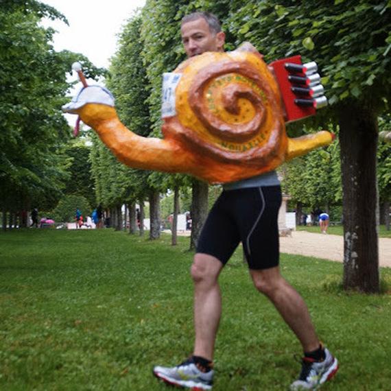 Mon Marathon de Paris pour les Restos du Coeur