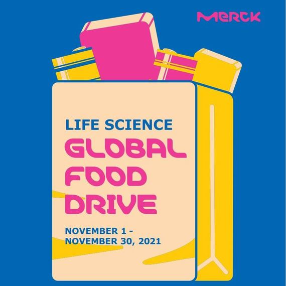 Merck Life Science Global Food Drive 2021