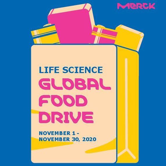 Merck Life Science Global Food Drive 2020
